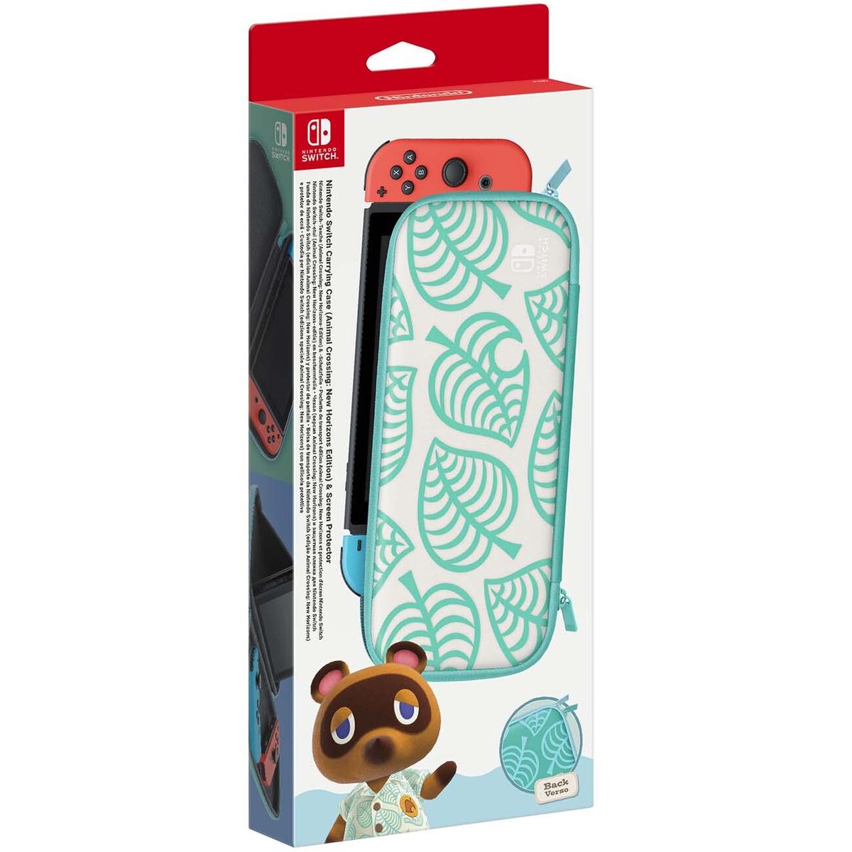 Nintendo Аксессуар для игровой приставки Чехол и пленка Animal Crossing New Horizons  #1