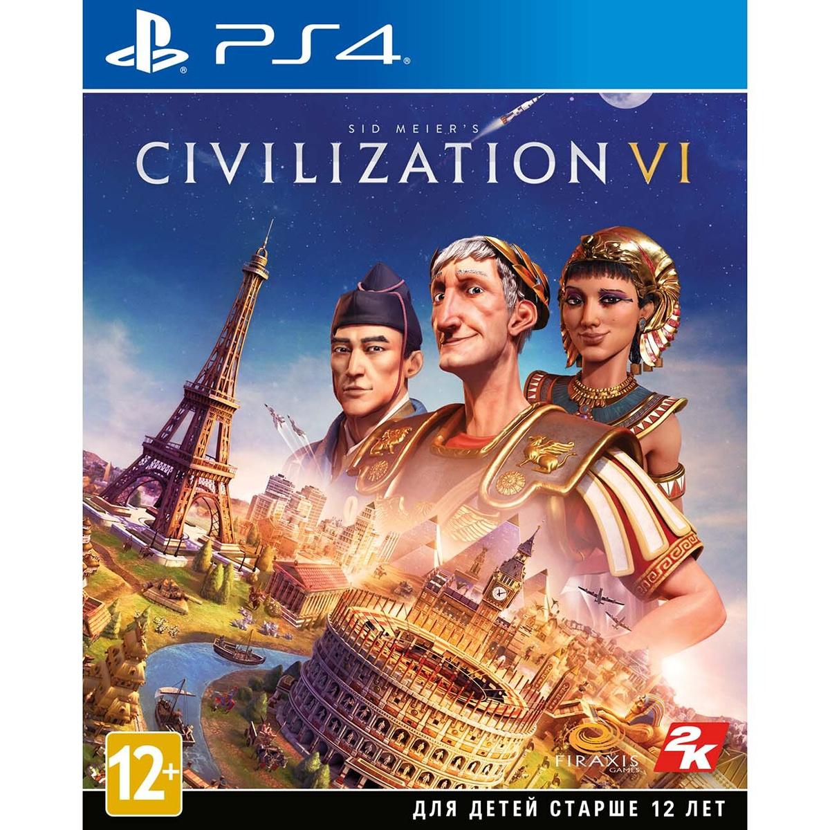Take-Two PS4 игра Sid Meier's Civilization VI #1