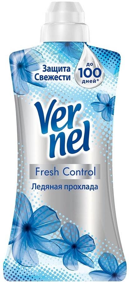 """Vernel Кондиционер-ополаскиватель для белья Fresh Control """"Ледяная прохлада"""", концентрат 1,2 л  #1"""