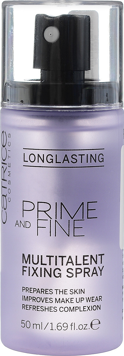 CATRICE Фиксирующий спрей для макияжа лица Prime And Fine Multitalent Fixing Spray, 50 мл  #1