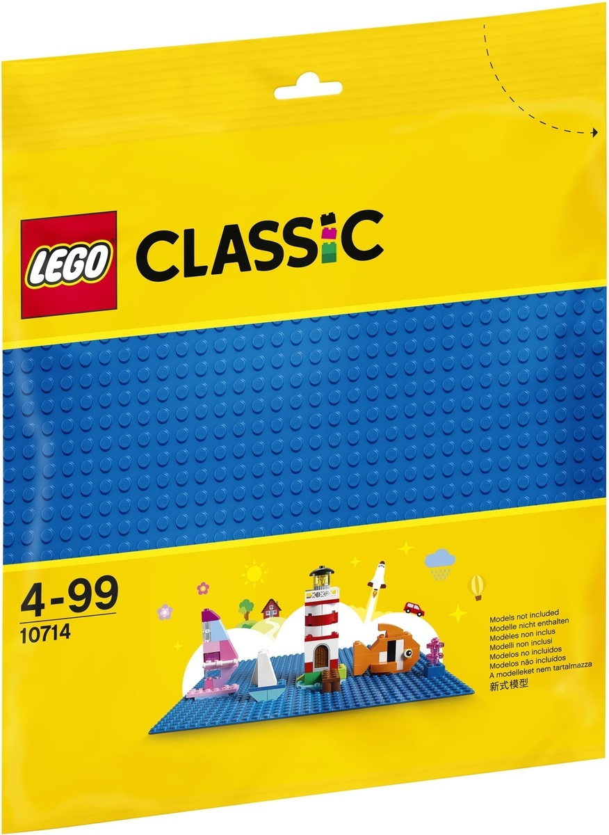 Конструктор LEGO Classic 10714 Синяя базовая пластина #1