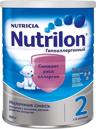Смесь Nutrilon Гипоаллергенный 2, 800 г #1