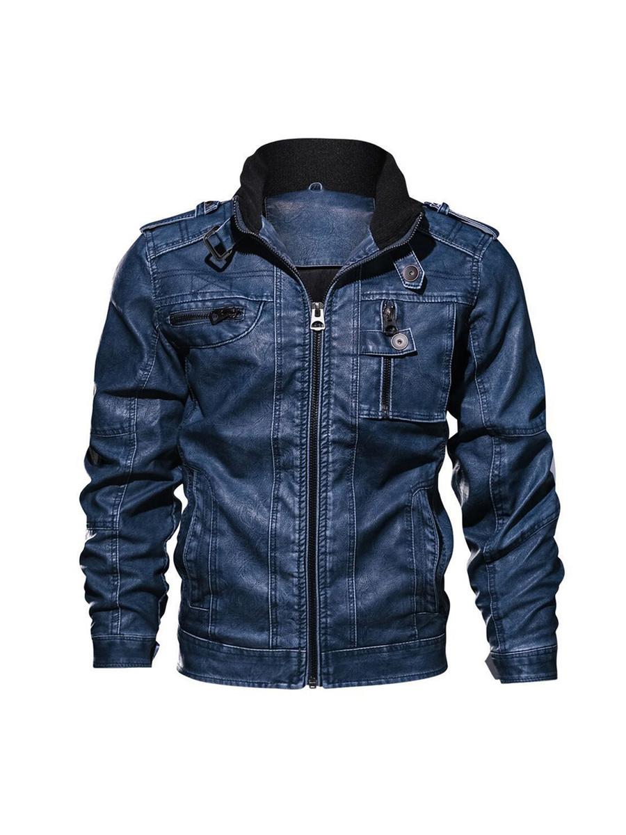 Кожаная куртка Sunloudy #1