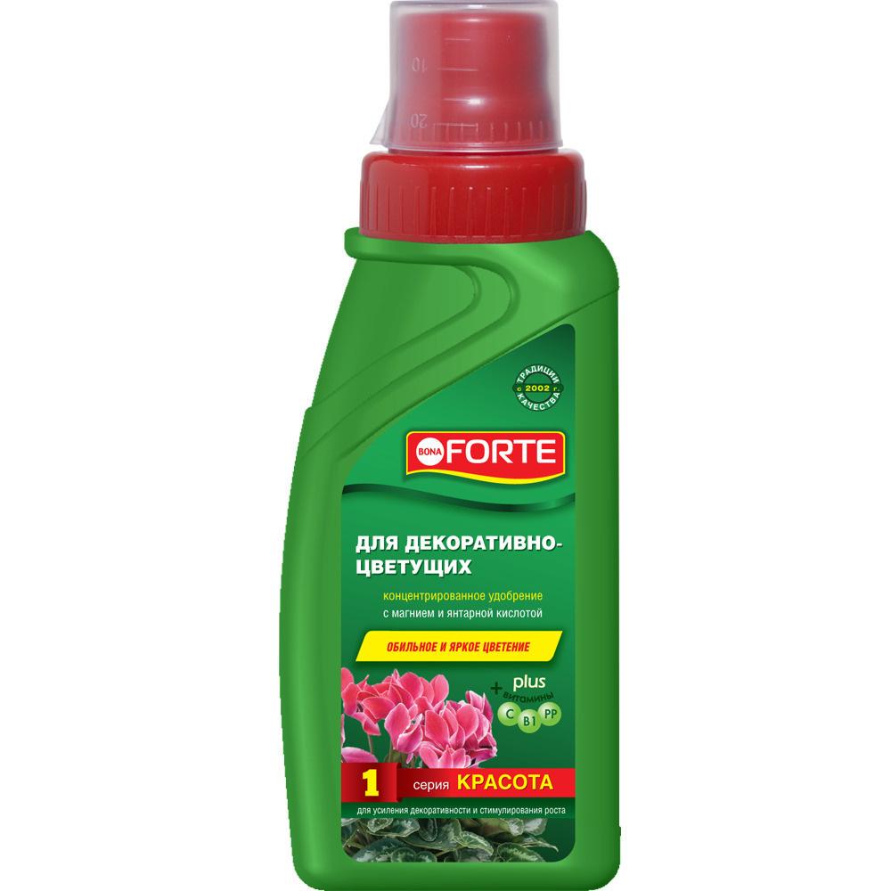 Удобрение Bona Forte серии КРАСОТА для декоративно-цветущих растений 285 мл  #1