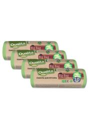 Мешки для мусора Qualita, 120 л, 10 шт. НОВИНКИ с лучшей ценой