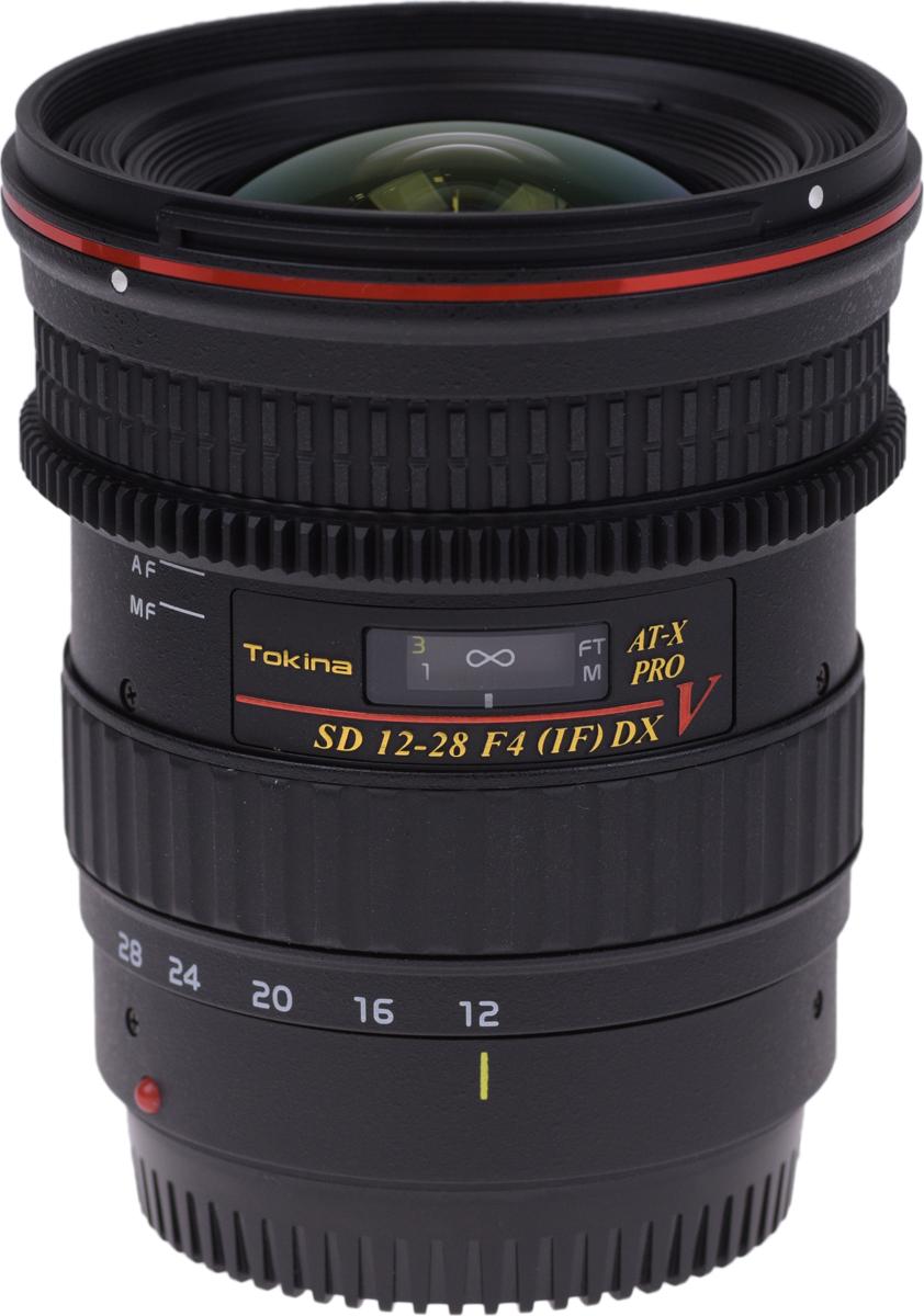 Широкоугольный объектив Tokina AT-X 128 F4 PRO DX V C/AF (12-28mm) для Canon
