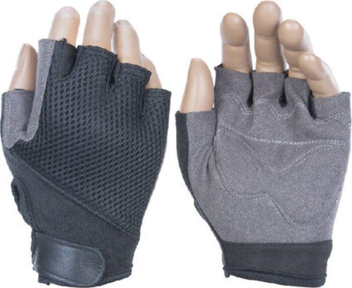 Перчатки для фитнеса Iron People IR97834, серый, размер L, в чехле