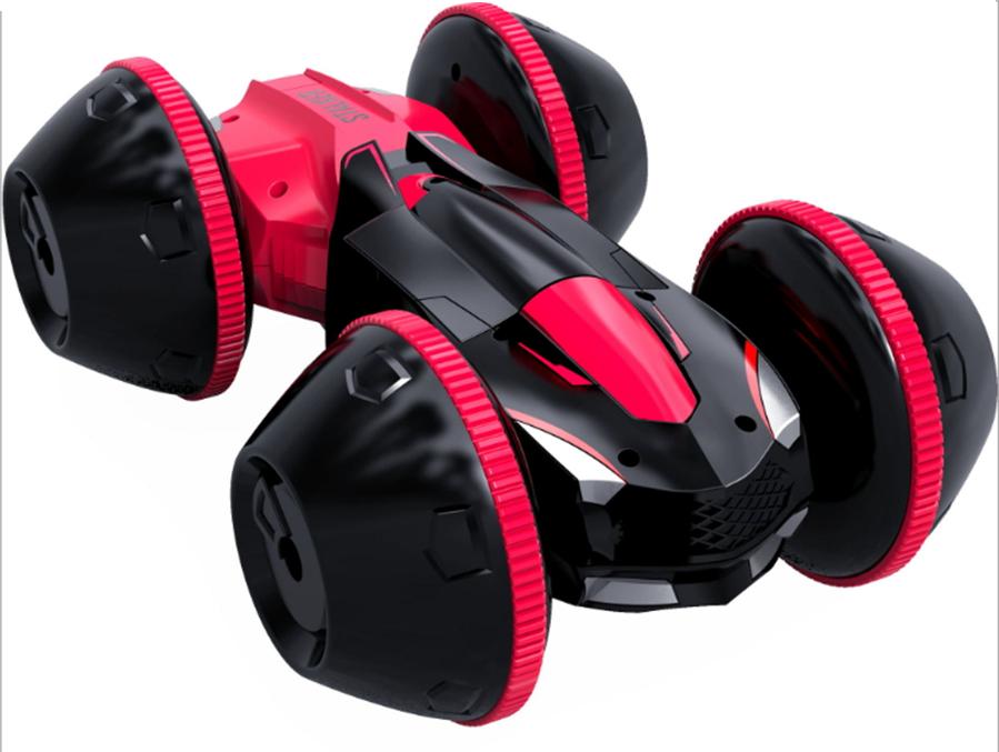 Машинка Призрак, радиоуправляемая, 4 колеса Красный