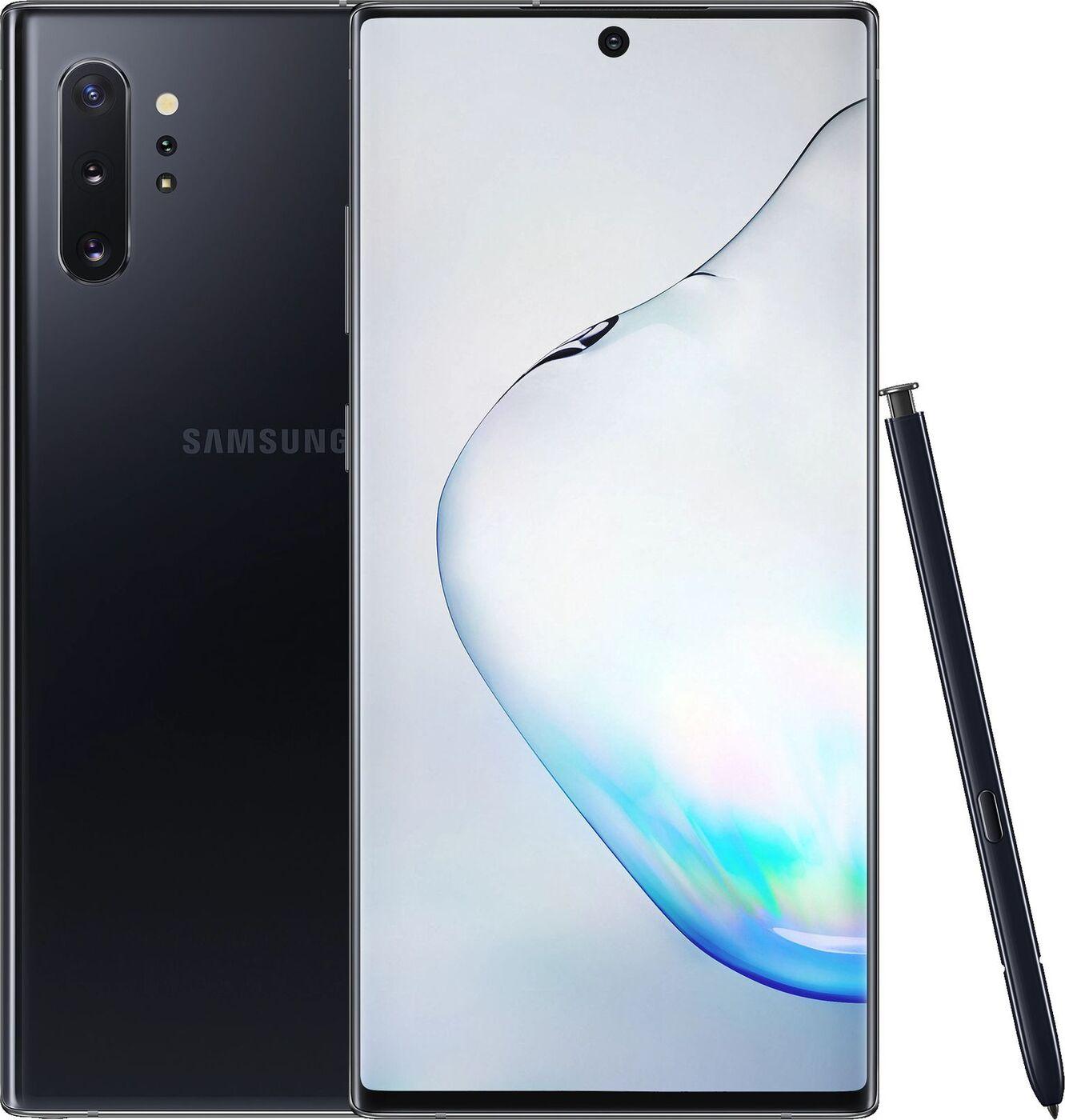 Смартфон Samsung Galaxy Note10+ 12/256GB, черный