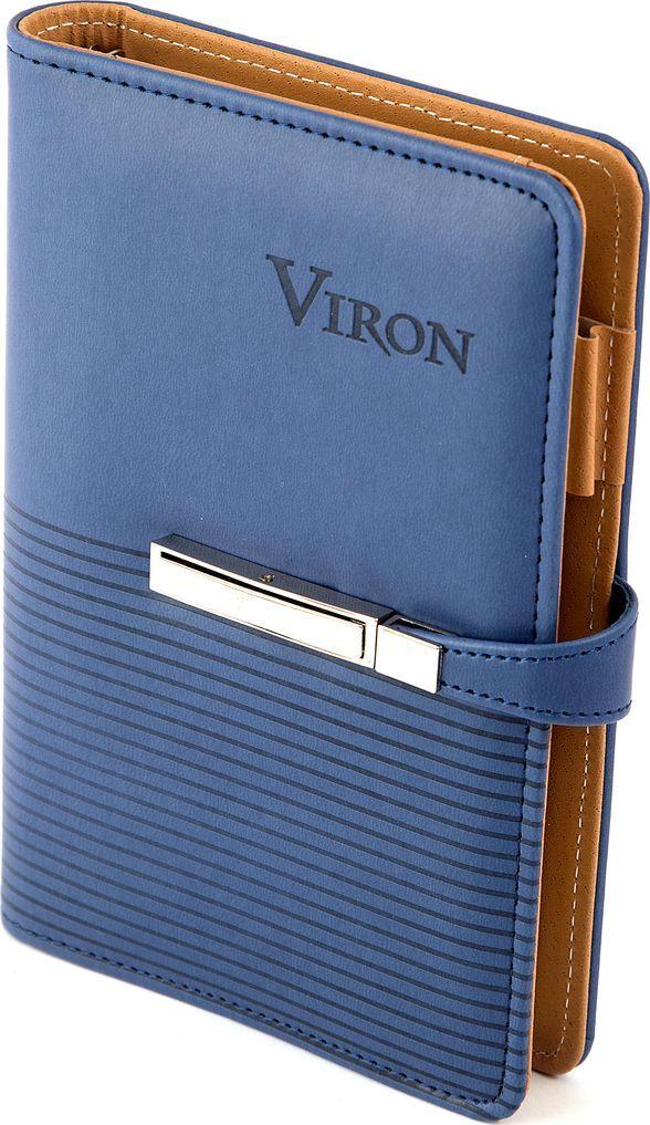 Ежедневник Viron, недатированный, 82720, синий, 80 листов