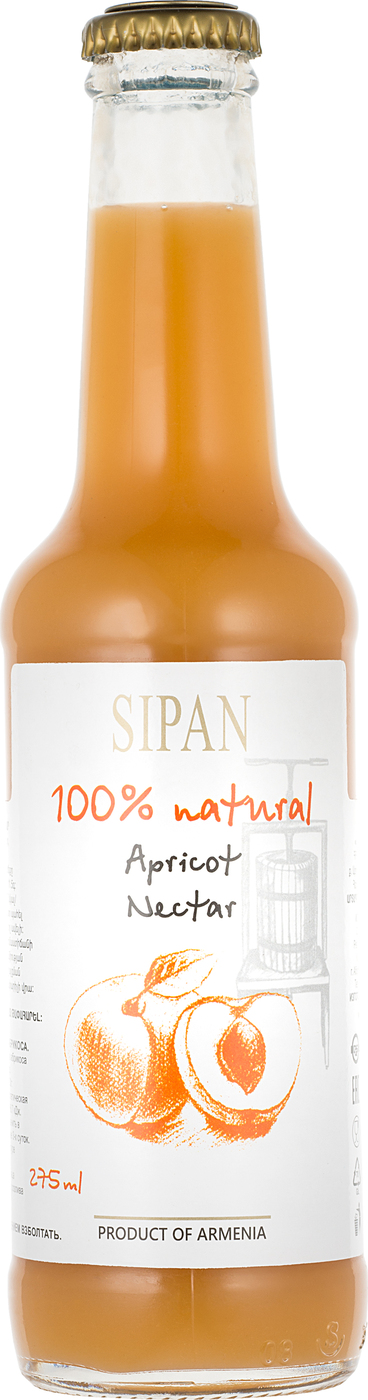Нектар из абрикоса 275мл Sipan