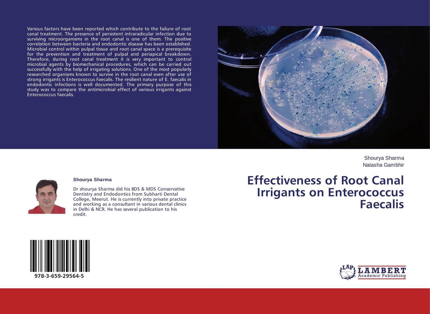 цены Shourya Sharma and Natasha Gambhir Effectiveness of Root Canal Irrigants on Enterococcus Faecalis