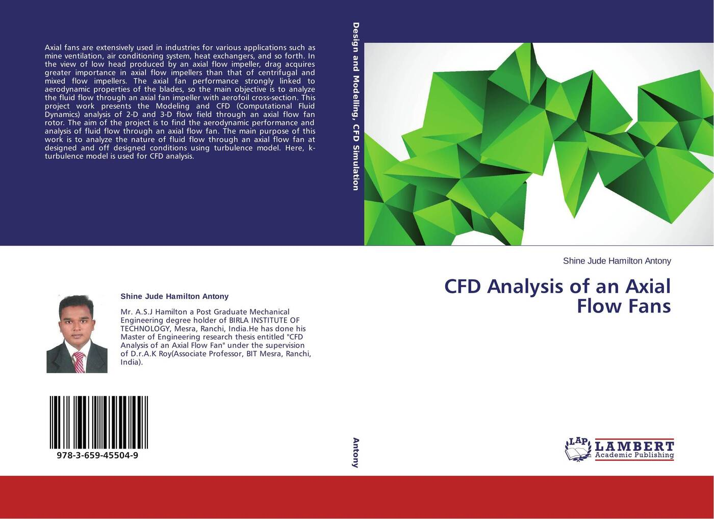 Shine Jude Hamilton Antony CFD Analysis of an Axial Flow Fans flow in games aural conditioning