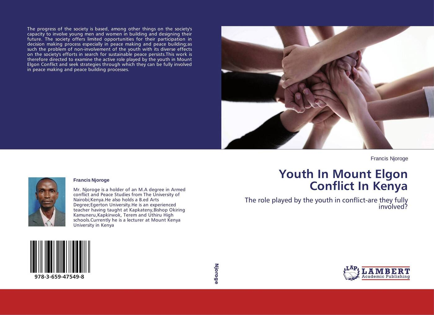 Francis Njoroge Youth In Mount Elgon Conflict In Kenya post conflict peace building of united nations in kenya
