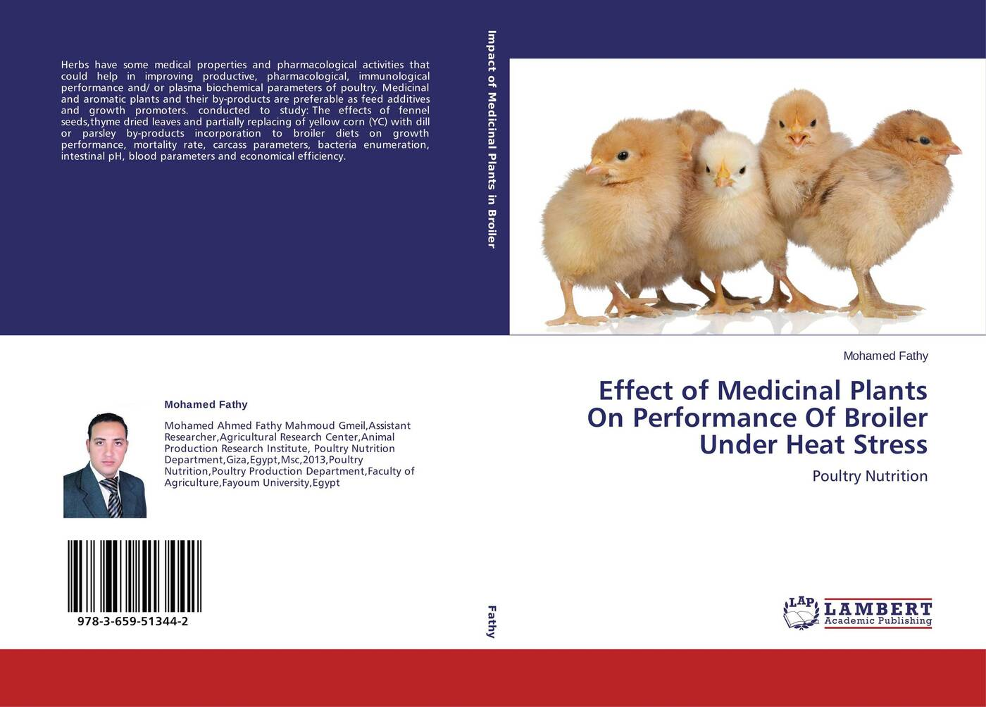 Mohamed Fathy Effect of Medicinal Plants On Performance Of Broiler Under Heat Stress mohamed aymen elouaer maher souguir and cherif hannachi effect of nacl priming on germination behavior of fenugreek
