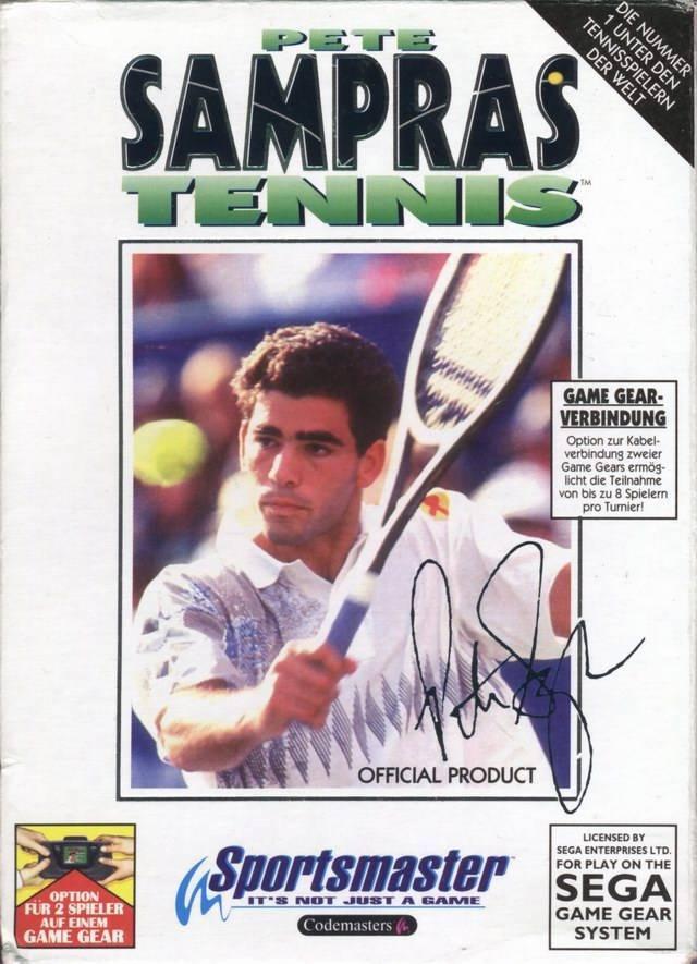 SEGA Pete Sampras: Tennis игры на приставку torrent