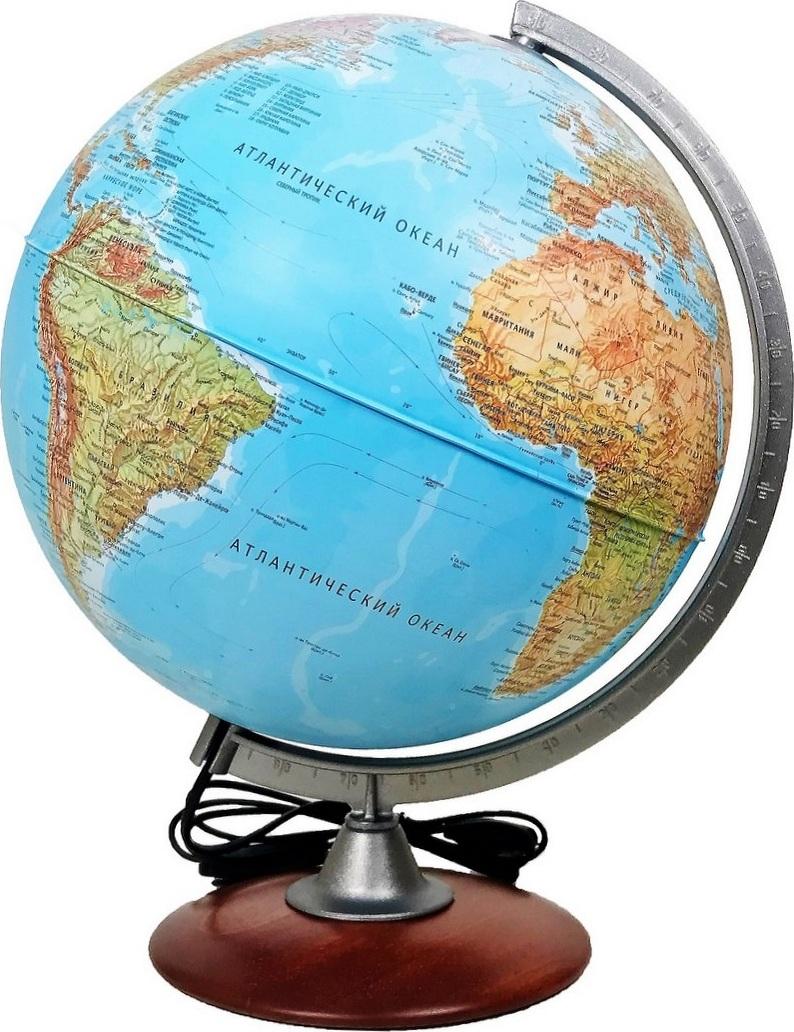 Глобус с подсветкой Atlantis, диаметр 30см.