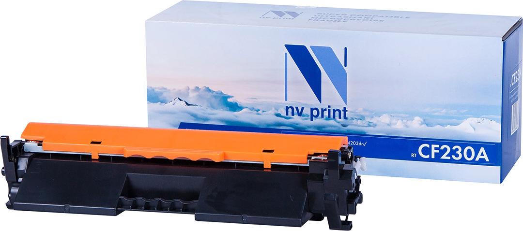 Тонер-картридж NV Print CF230A, черный, для лазерного принтера