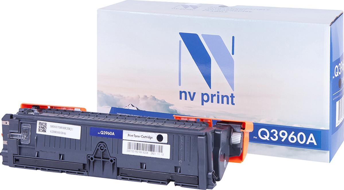 Тонер-картридж NV Print Q3960A, черный, для лазерного принтера