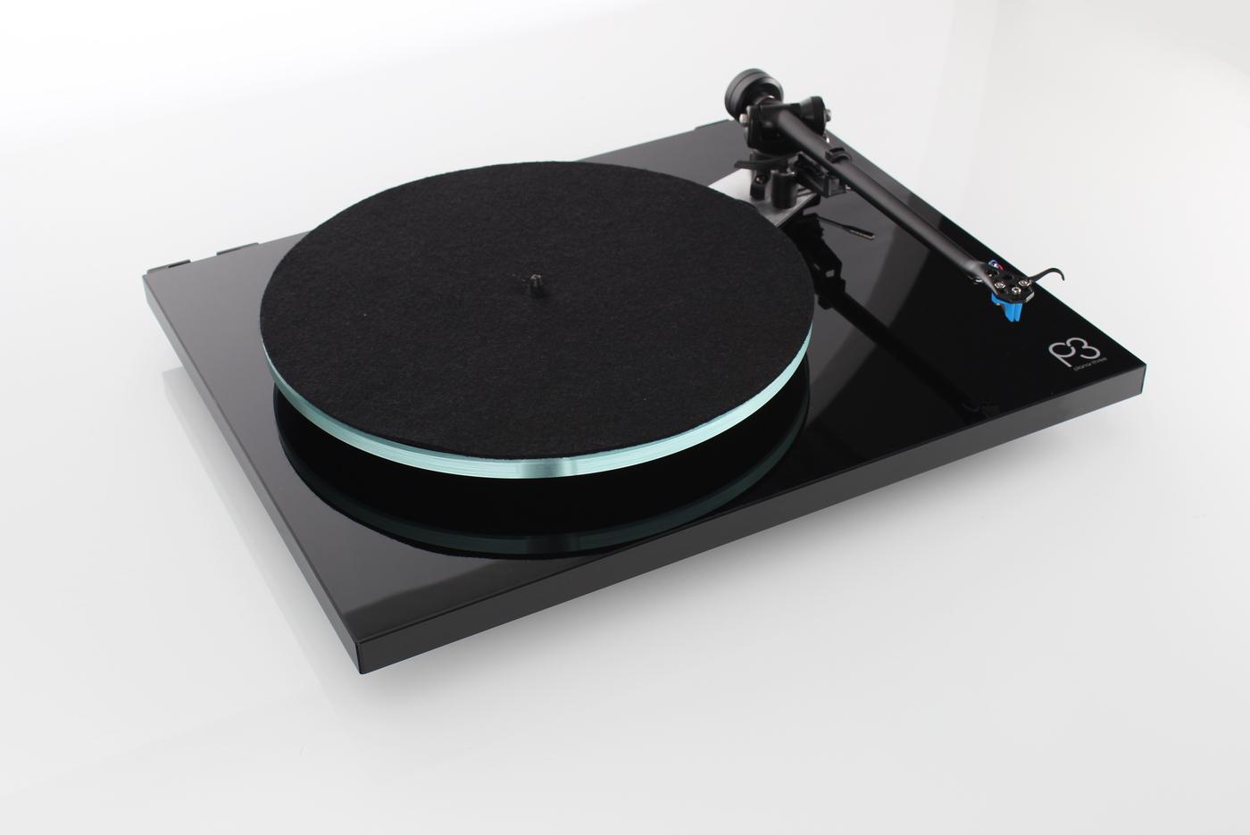 REGA PLANAR 3 (ELYS-2) BLACK Проигрыватель виниловых пластинок