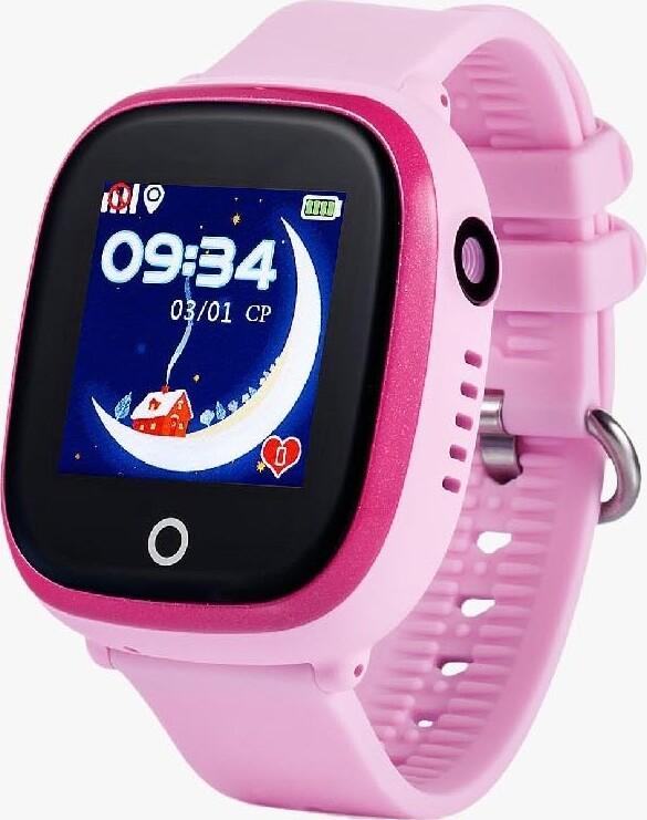Умные часы ZUP Children Smart Watch, Розовый, 1914 q100 q750 smart watch phone baby children kids gps tracker 1 54 touch screen wifi location sos anti lost device safe pk q50 q90