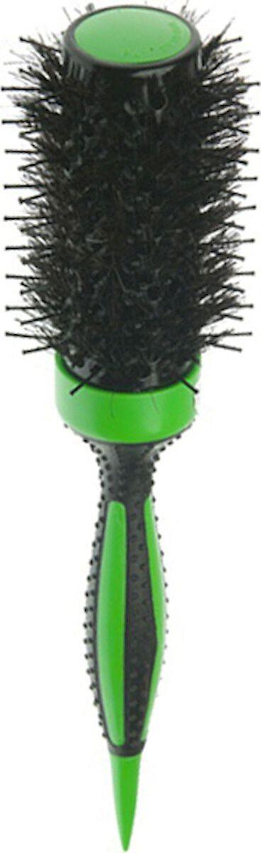 Термобрашинг DEWAL серия ELITE,с керамическим покрытием, зеленый, пл.штифт+нат.щетина d39/65мм