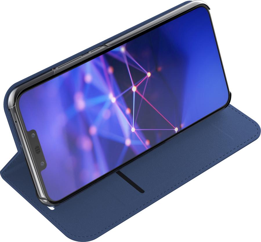 Чехол-книжка Celly Air Case для Huawei Mate 20, синий