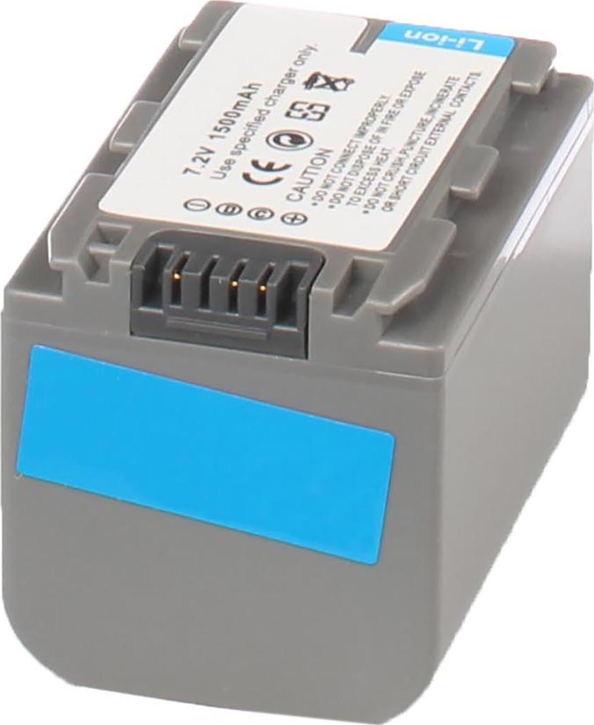 Аккумуляторная батарея iBatt iB-T1-F281 1360mAh для камер Sony HDR-HC3, DCR-SR60, DCR-HC23E, DCR-HC17E, DCR-HC26E, DCR-HC35E, DCR-HC30E, DCR-HC96E, DCR-HC18E, DCR-HC32E, DCR-HC19E, DCR-DVD105E, DCR-HC46E, DCR-HC42E, DCR-DVD405E, DCR-HC96, DCR-HC26,