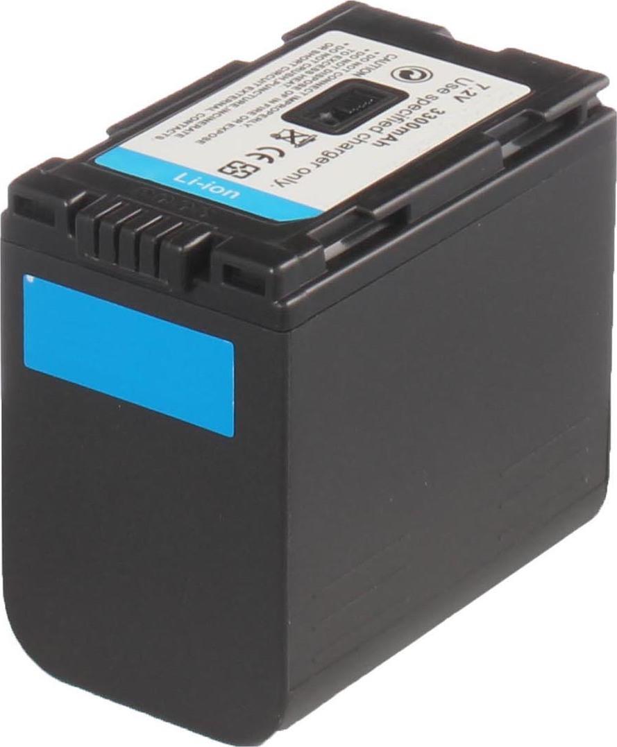Аккумуляторная батарея iBatt iB-T2-F316 3300mAh для камер Panasonic NV-DS15, NV-DS50, AG-DVC30, AG-DVX100B, NV-GS3, AG-DVC60E, AG-DVC80, AG-DVX100AE, NV-DS38, NV-DS25, NV-MX5000, PV-GS9, NV-C7, NV-DB1, NV-DS150, NV-DS15EN, NV-DS25EN, NV-DS29EG,