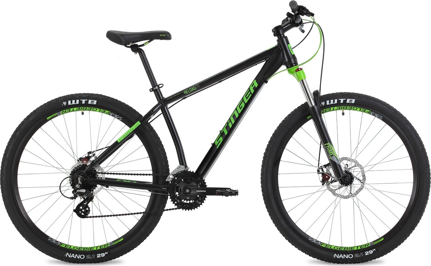 Велосипед STINGER 29 Reload Std 2018 20 чёрный