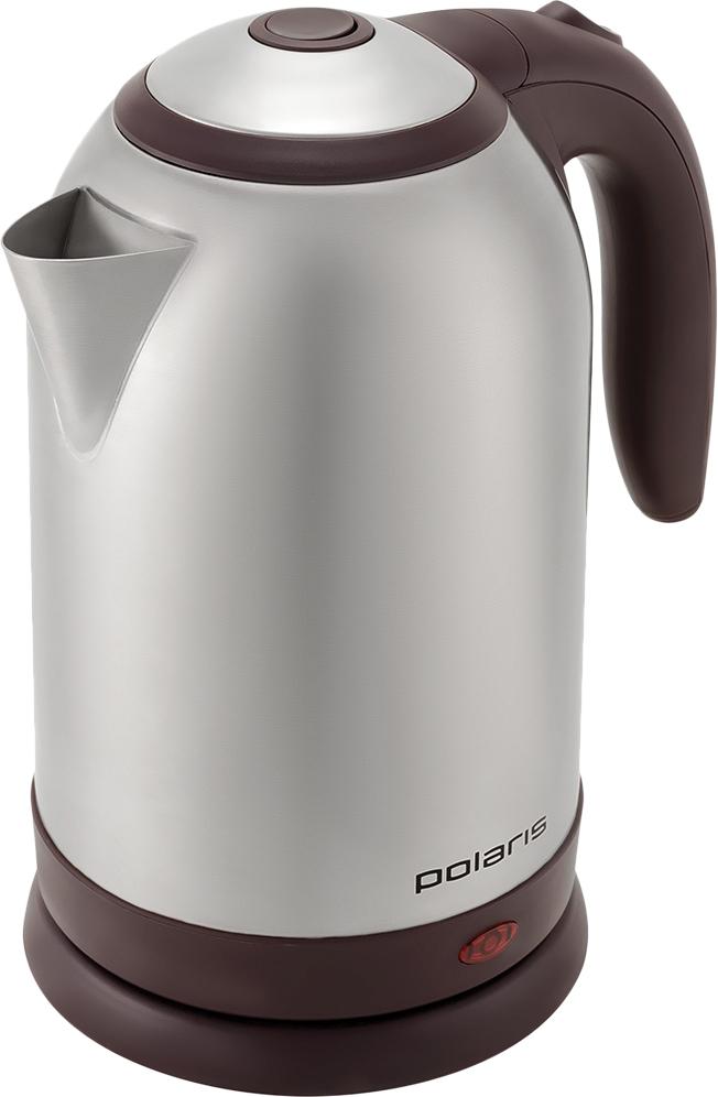 Чайник электрический Polaris, PWK 1864CA, серый,1,8 л