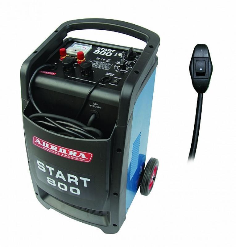 Профессиональное пуско-зарядное сетевое устройство Aurora START 800 ДУ 12 24В