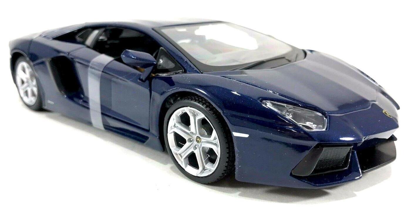 "Maisto ""Машинка темно-синяя - Lamborghini Aventador LP700-4 2012г 1:24"""