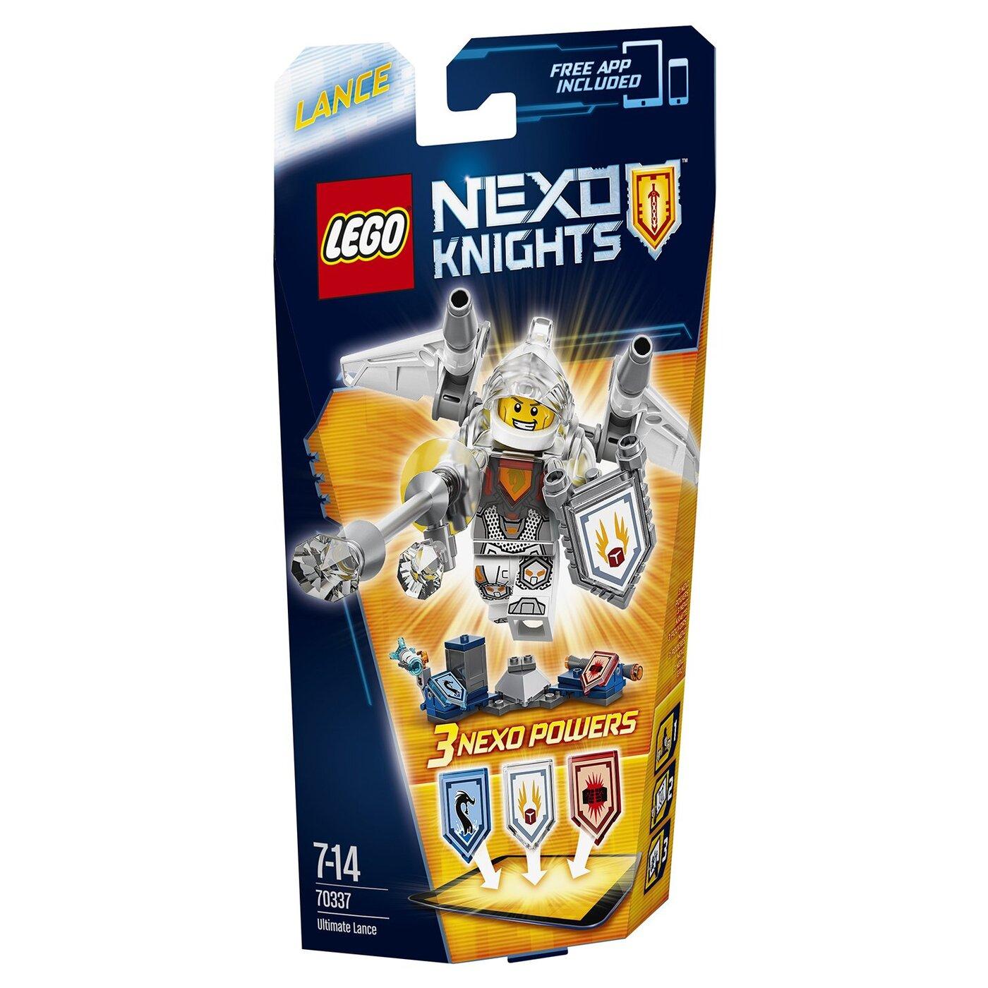LEGO Nexo Knights Конструктор Ланс  Абсолютная сила 70337