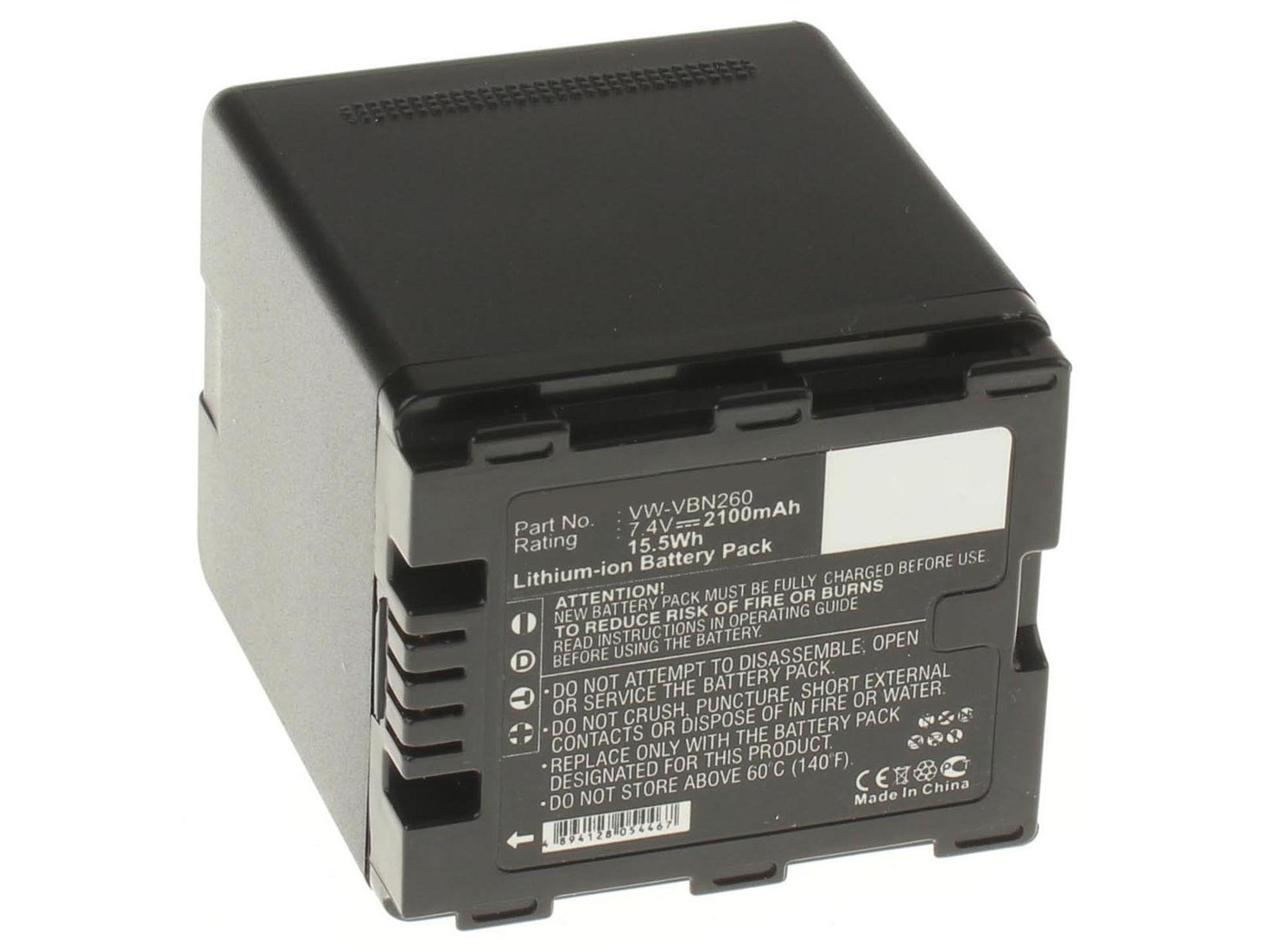 Аккумуляторная батарея iBatt iB-T1-F229 2100mAh для камер Panasonic HC-X800, HC-X920, HDC-SD800, HC-X900, HC-X810, HDC-TM900, HC-X900M, HDC-SD900, HDC-HS900, HDC-TM900K, HC-X800GK, HC-X900K, HC-X909, HDC-HS900GK, HDC-HS900K,