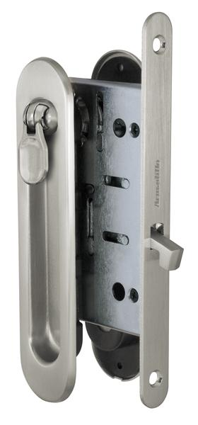 Набор для раздвижных дверей SH011-BK SN-3, матовый никель