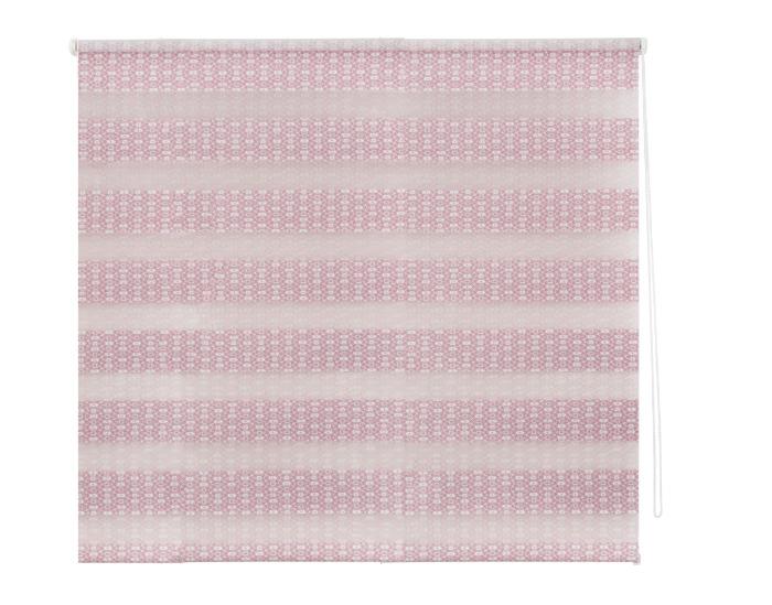 Штора рулонная, 80х160 см, цвет розовый-20588
