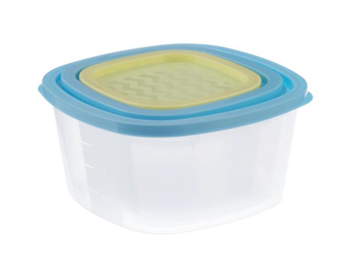 Набор контейнеров для пищевых продуктов, 3 шт-20035