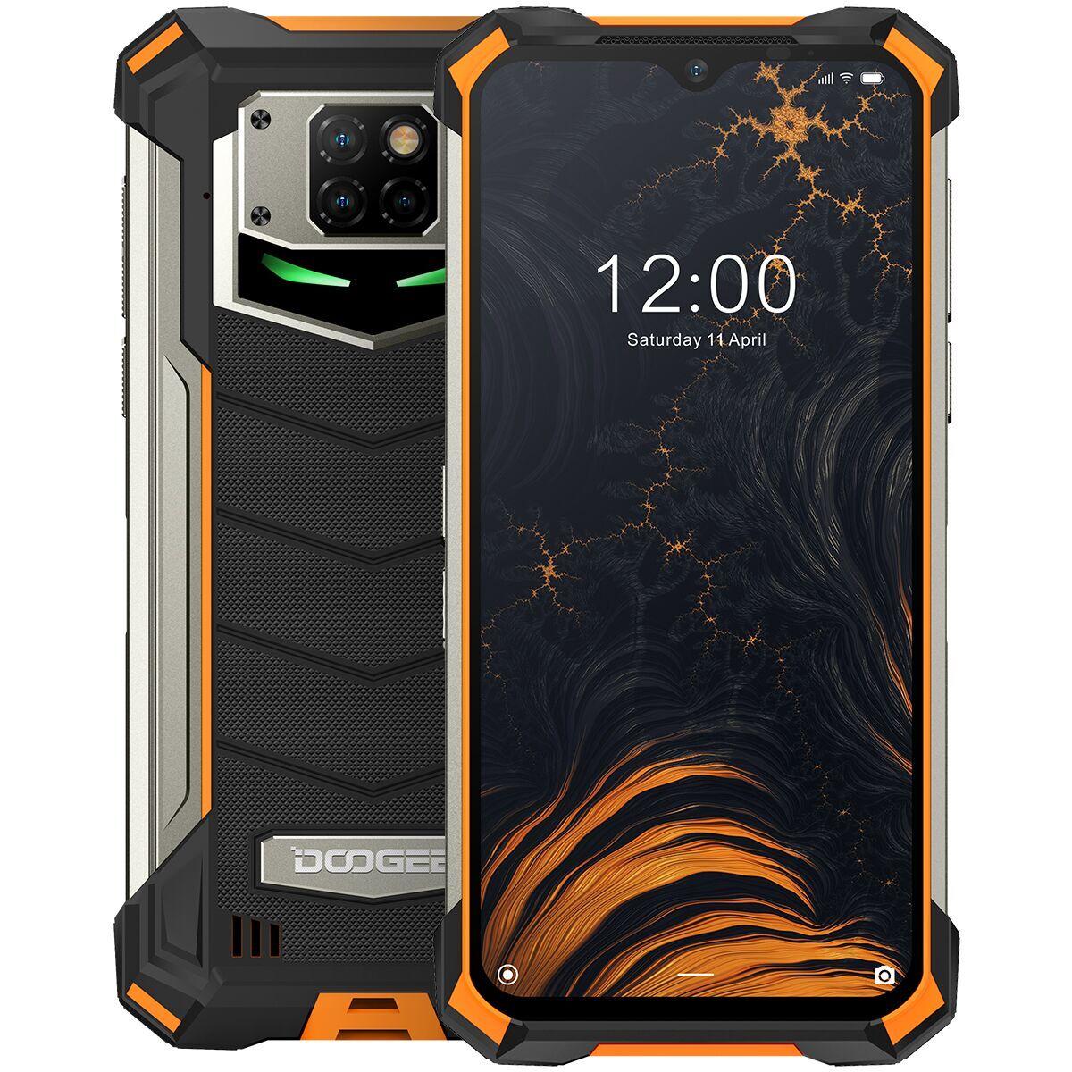 смартфон doogee s88 pro 6/128gb, оранжевый