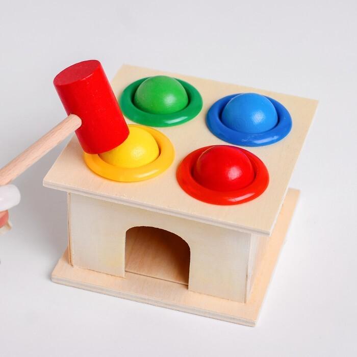 Игрушка деревянная стучалка