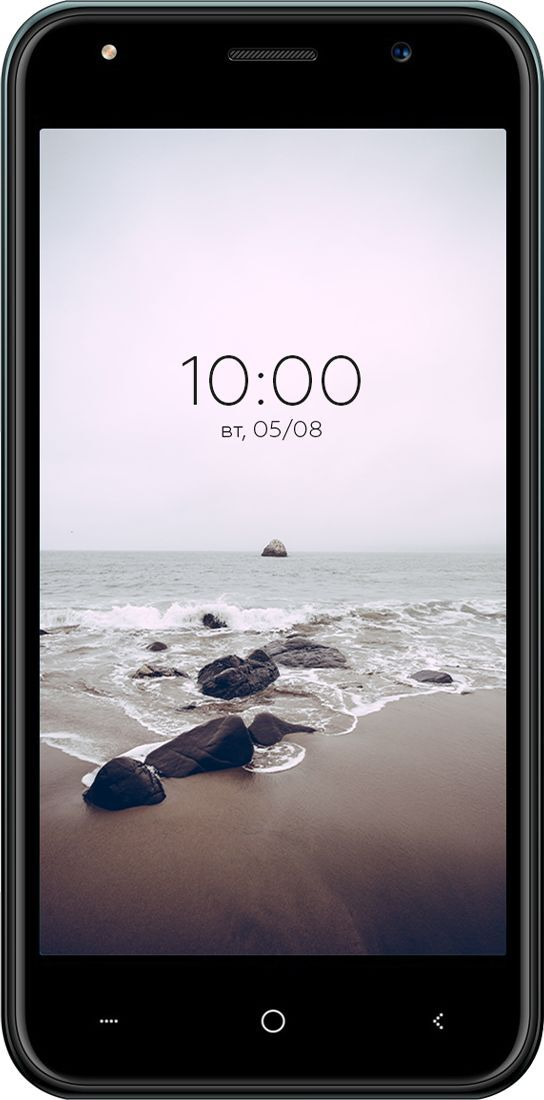 смартфон bq 5031g fun 1/8gb, graphite