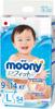 Подгузники Moony L (9-14 кг) 54 шт - изображение