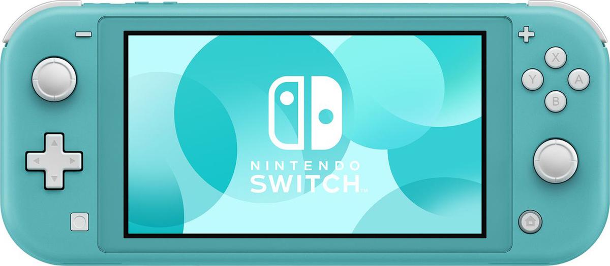 Игровая консоль Nintendo Switch Lite, бирюзовый #1