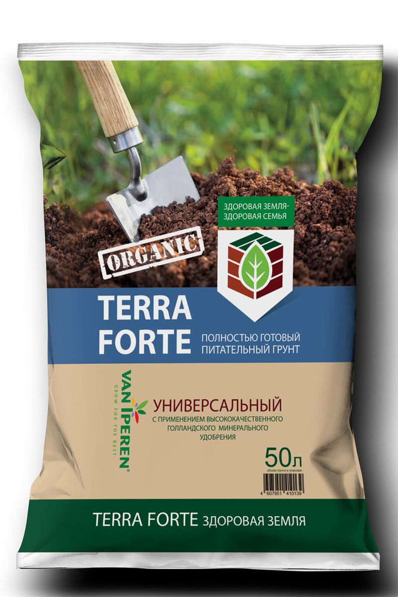 """Питательный грунт """"Terra Forte Здоровая Земля"""" 50 л. #1"""