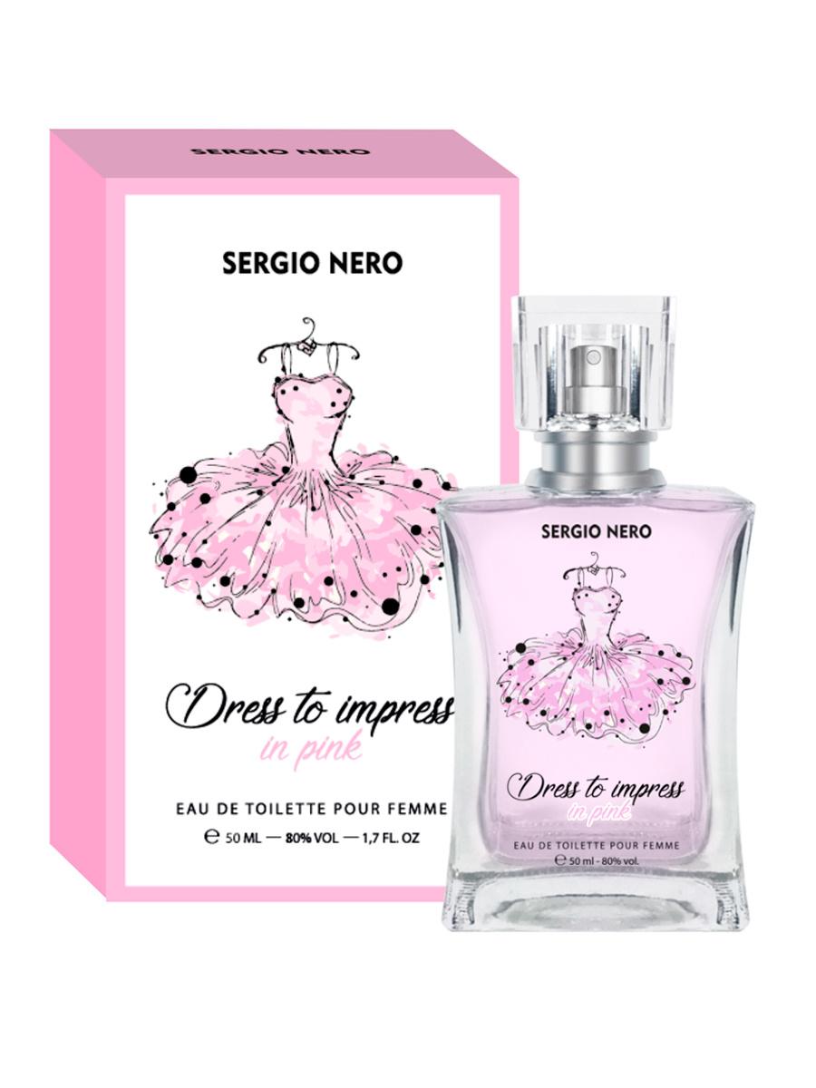 Sergio Nero Dress to impress in pink Туалетная вода 50 мл #1