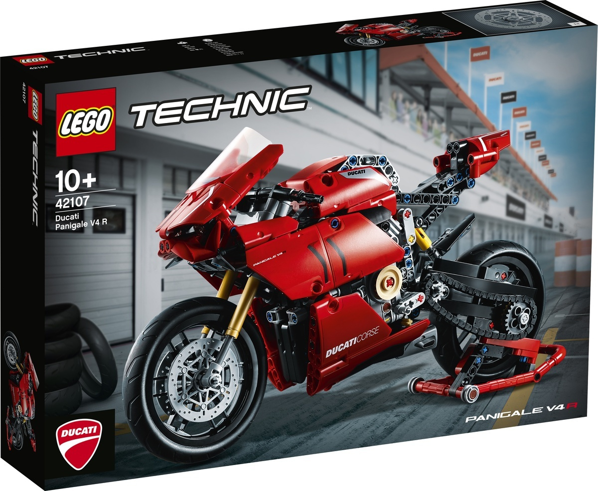 Конструктор LEGO Technic 42107 Ducati Panigale V4 R #1