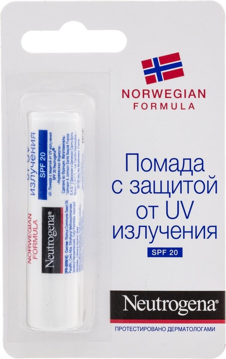 """Помада для губ """"Neutrogena"""", для сухой и потрескавшейся кожи, SPF 20  #1"""