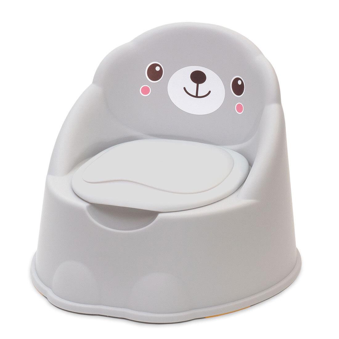 """Funkids / Горшок-кресло детский анатомический """"Potty Chair"""" арт. 6202GR / Grey  #1"""