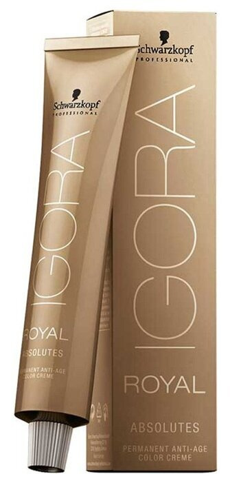 Schwarzkopf Professional Краска для волос Игора Роял Абсолют 7-10 / Igora Royal Absolute 7-10 Средний #1
