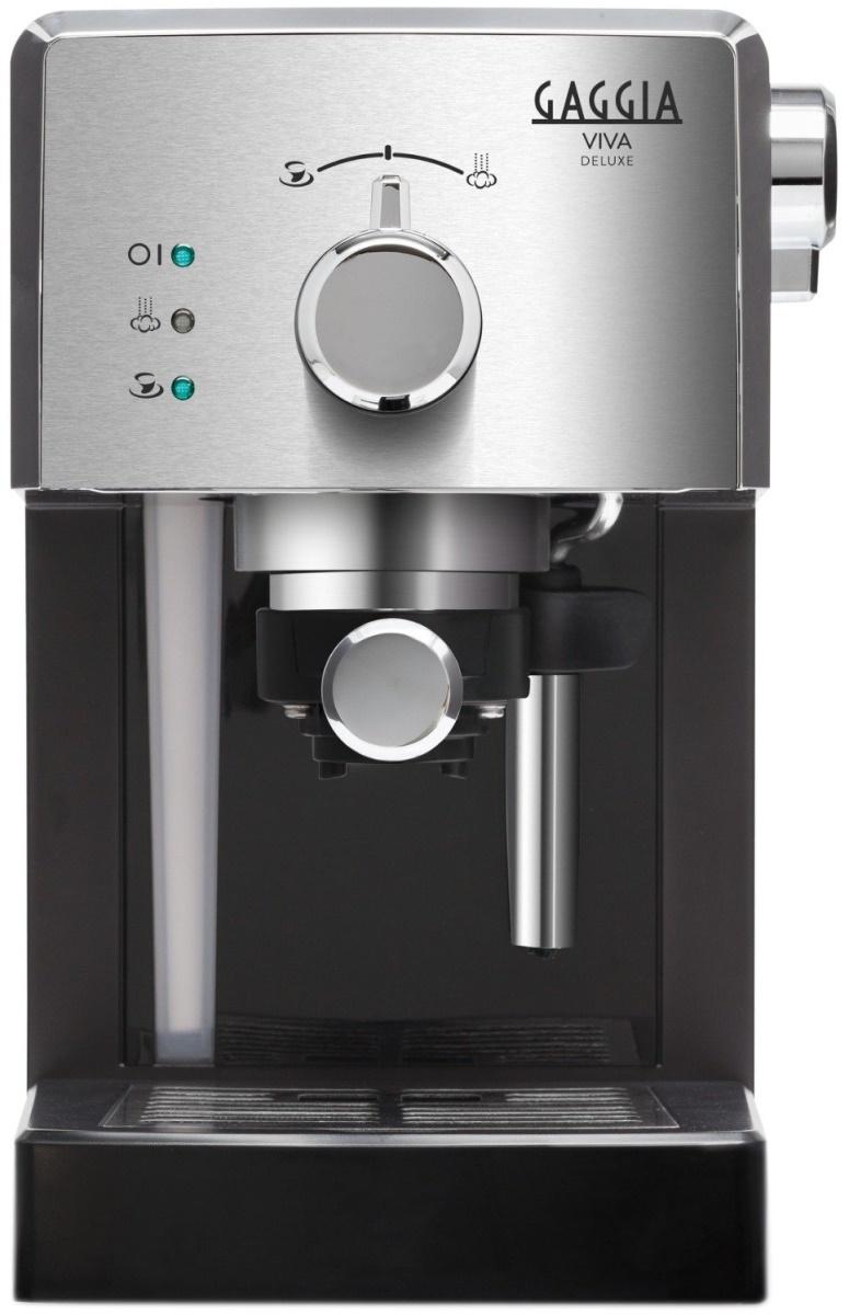 Кофеварка рожковая GAGGIA Viva Deluxe, серебристый #1